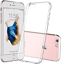 Shamo's Case for iPhone 6 and iPhone 6s Crystal Clear Shock Absorption TPU Rubber Gel Transparent (Clear)