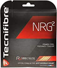 Tecnifibre NRG2 17g (1.24) Black Tennis String - 40 Foot Pack