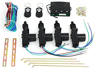 eSynic 2/4 Keyless Door Remote Control Car Central Locking Security System Entry Kit