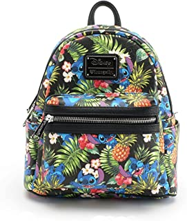 Loungefly X Disney Stitch Pineapple AOP Mini Backpack