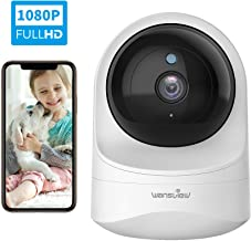 Baby Monitor Camera, Wansview 1080PHD Wireless Security Camera for Home, WiFi Pet Camera..