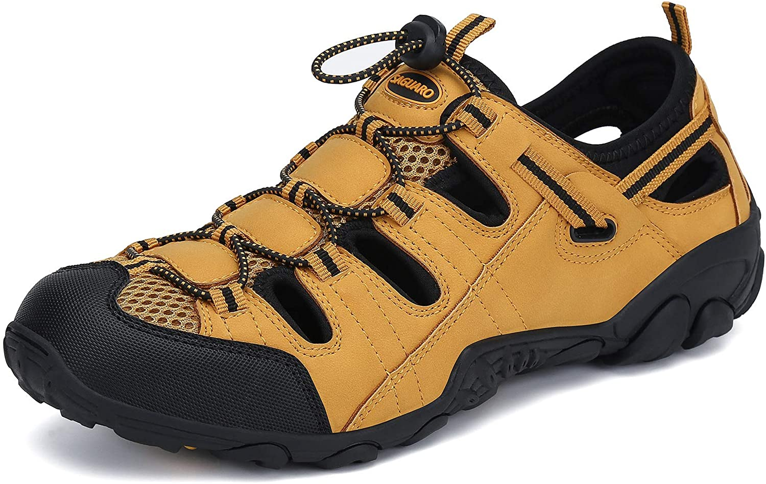 | Mens Womens Athletic Hiking Sandal Closed Toe Outdoor Walking Water Shoes | Sport Sandals & Slides
