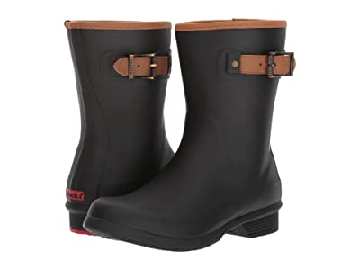 Chooka City Solid Mid Boot (Black) Women
