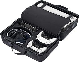 Bolsa de armazenamento para PS5, 43 x 27 x 21 cm, capa rígida à prova d'água de alta capacidade para controle Ps5, bolsa d...