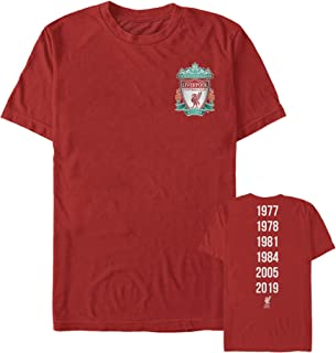 Liverpool Football Club Men's Bird Shield 2019 Winners T-Shirt