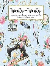 Twenty-Twenty The Ultimate 2020 Pixel Monthly & Weekly Planner Calendar Book: Sewing Queen Sew  Kids    13 Month   December 2019 - December 2020   8.5 ...   Work   School   Mom   Bridesmaid Gift