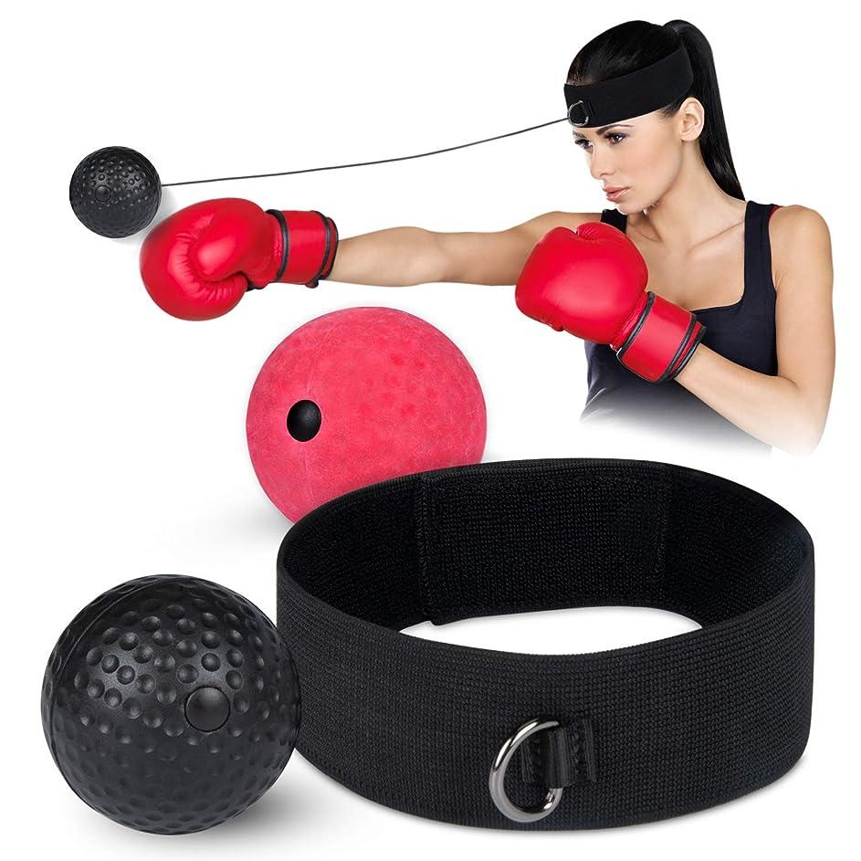 役立つチート言語学ボクシングボール パンチングボール Deyard ボクシングトレーニング 格闘技 打撃練習 動体視力 反射神経 2つボール