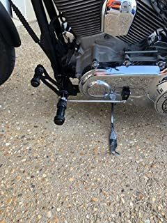 TARAZON 2000-2017 Aluminum Forward Controls Foot Pegs for Harley DYNA Street Bob Super Glide Lower Rider CNC Billet Pegs (Black)