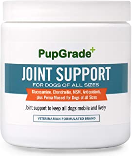 PupGrade Joint Support Supplement for Dogs - Natural...
