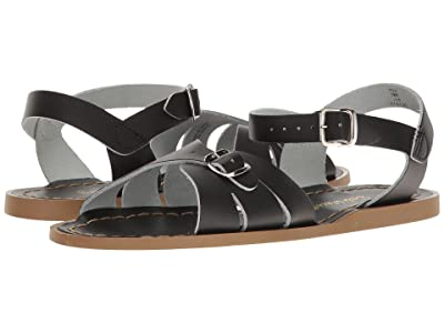 Salt Water Sandal by Hoy Shoes Classic (Big Kid/Adult) (Black) Girls Shoes