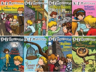 A to Z Mysteries Boxed Set, Books A to H: The Absent Author, The Bald Bandit, The Canary Caper, The Deadly Dungeon, The Empty Envelope, The Falcon's Feathers, The Goose's Gold, and The Haunted Hotel