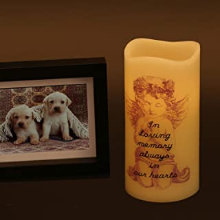 Votive Candles Bulk Battery Operated Memorial Candle for Loss of Loved One LED Flameless Candles Pillar Real Wax Flickerin...