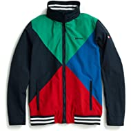 Tommy Hilfiger Men's Adaptive Yacht Jacket with Magnetic Zipper