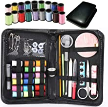 Kit de Costura,Costurero de 58 Piezas,Caja de Costura Premium de Bricolaje con Hilo de Aguja,Kit de Costura para Principia...