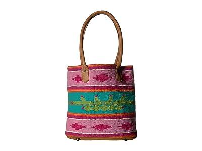 STS Ranchwear Cactus Serape Tote (Cactus Serape) Handbags