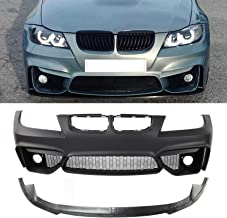 Front Bumper Cover Compatible with 2009-2011 BMW 323i//328i 2009-2012 Primed Sedan//Wagon