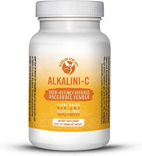 Sponsored Ad - Alkalini-C | Tasty Plant Based Vitamin C| GMO Free| Potent Alkalizing Antioxidant| NOT Synthetic Ascorbic A...