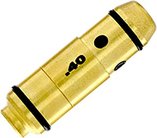 LaserLyte laser trainer 40 SW cartridge built in SNAP CAP for dry fire training the LASER BULLET is centered in the chamber with RUBBER ORINGS great for laser training with your PISTOL no ammo needed