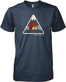 Dead Drift Fly Mens Colorado Peak Fly Fishing T-Shirt