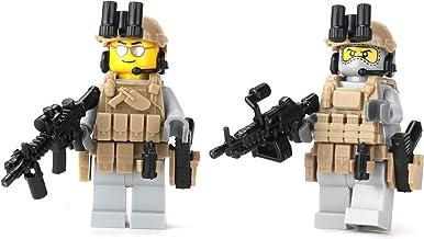 Battle Brick US Army Rangers (SKU39) Custom Minifigure