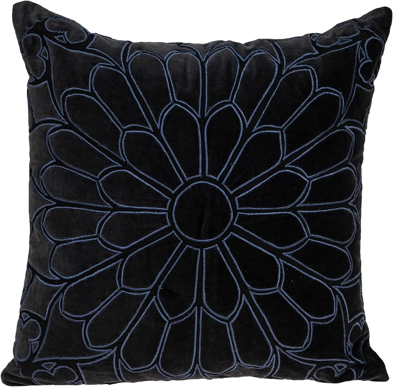 Parkland All stores are sold Collection Petal Charcoal Down Throw Filled Pillow Some reservation