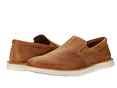Clarks Forge Free (Tan Leather) Men