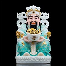 Statue Decoration Feng Shui Decoration God of Wealth Attract Wealth and Good Luck Home Decor God of Fortune Statues Chines...