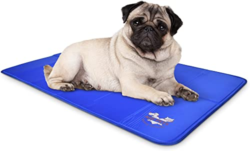 new arrival Arf outlet online sale Pets Pet Dog outlet online sale Self Cooling Mat Pad for Kennels, Crates and Beds 23x35 outlet online sale