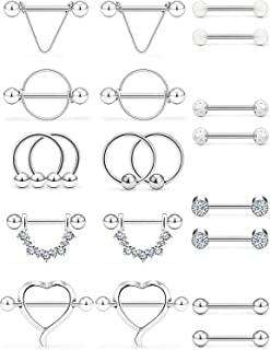Best nipple rings surgical steel Reviews