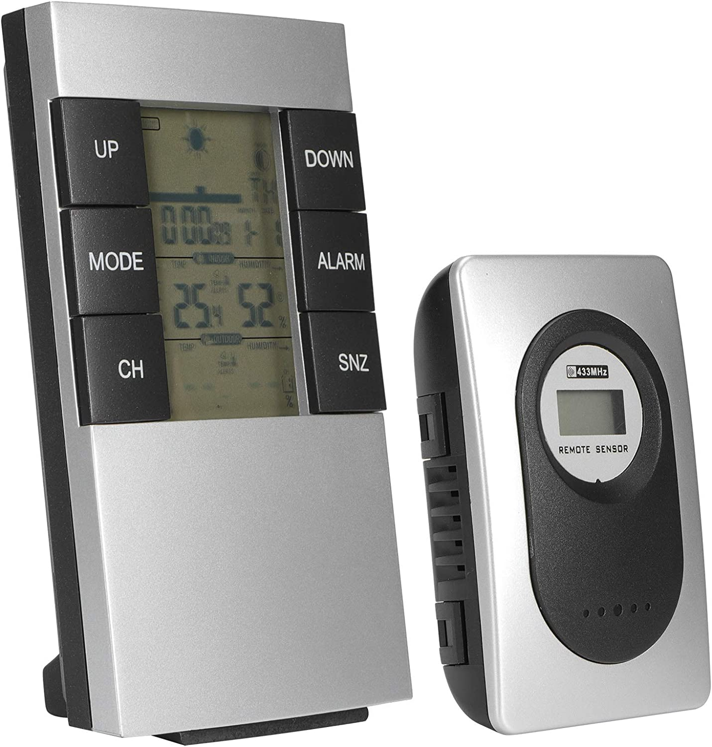 Cheap mail San Jose Mall order specialty store WNSC Hygrometer Multifunctional Weather Stat Digital