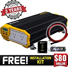 2000 watt inverter install kit