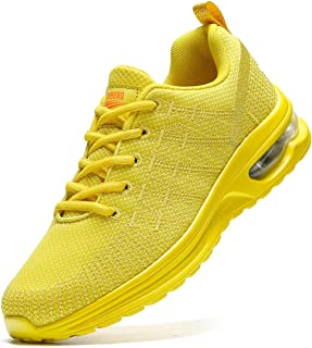 Damyuan Women's Air Cushion Sneakers Walking Casual Running Shoes Gym Sport Breathable