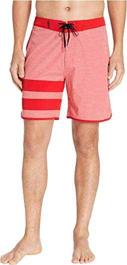 "Phantom Block Party Slub 18"" Boardshorts"