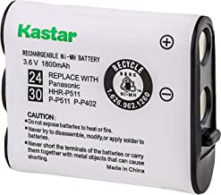 Kastar HHR-P511 / HHR-P402 Battery, Type 24 &Type 30 NI-MH Rechargeable Cordless Telephone Battery 3.6V 1800mAh, Replaceme...