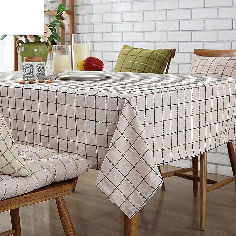 Tischdecken Tuch Amerikanische Baumwolle und Leinen Tischdecke Tischdecke decke TVSchrank Tuch Tischdecken  Rechteck TischdeckeD Durchmesser220cm(87inch)