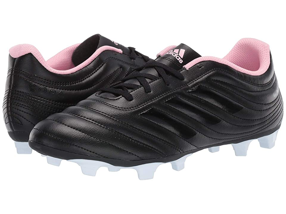 adidas Copa 19.4 FG (Core Black/Clear/True Pink) Athletic Shoes