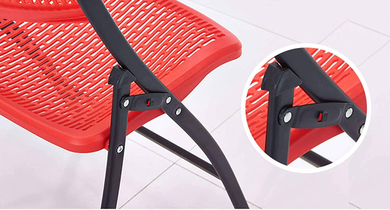 Chaise Camping Chaise Pliante,Plastique Réunion Dossier Bureau Ordinateur Chaise Gris Clair