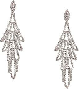 Rhinestone Chandelier Drop Earrings Crystal