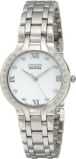 EM0120-58A  Eco-Drive Bella Diamond Accented Watch