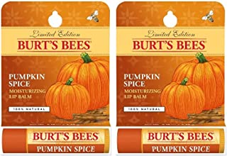 Lip Balm by Burt's Bees (Pack of 2) Limited Edition Pumpkin Spice by Burt's Bees