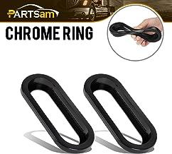 Partsam 2PCS Black Rubber Grommets for 6