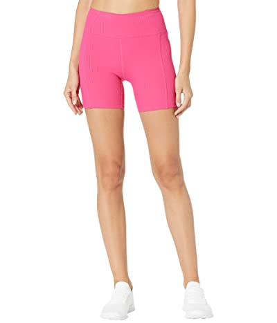 YEAR OF OURS Ribbed Shorts (Magenta) Women