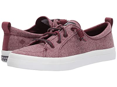 Sperry Crest Vibe Sparkle Chambray (Wine) Women