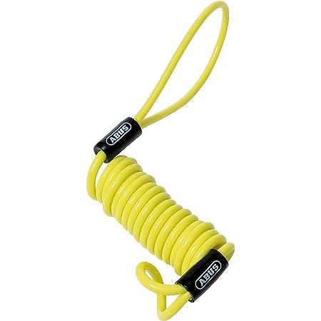 ABUS(アブス)ロックリマインダー (Memory Cable) イエロー 90cm 1646000014