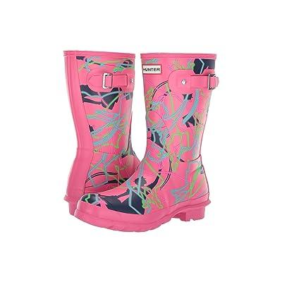 Hunter Disney Mary Poppins Original Short Rain Boots (Arcade Pink Bright Camo Print) Women