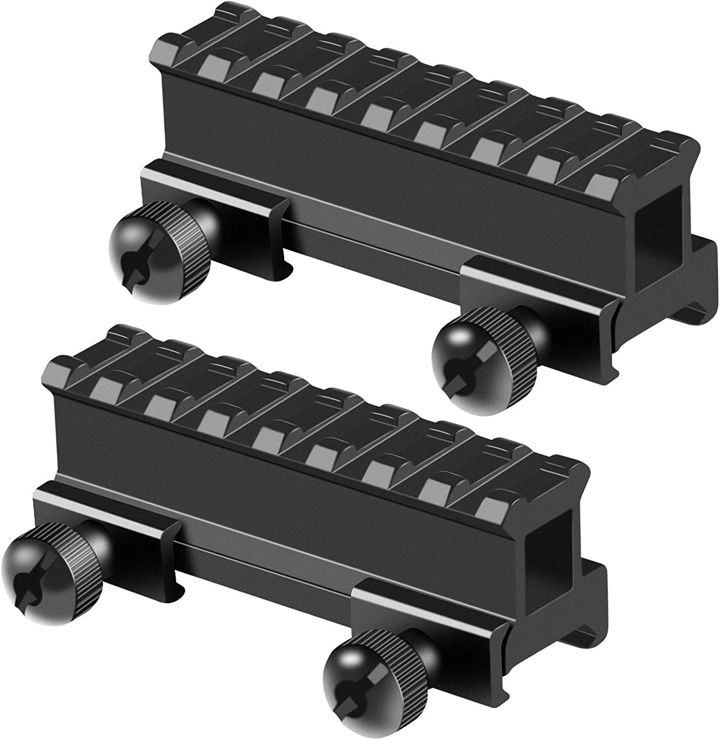 FENTUK Picatinny Riser Mounts 1 Inch Super sale period limited High Slots Picat Profile Free shipping anywhere in the nation 8