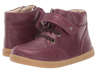 Bobux Kids I-Walk Timber Boot (Toddler) (Plum) Girl