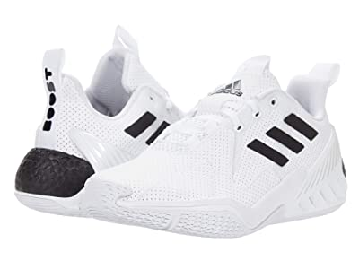 adidas Kids 4UTURE One (Big Kid) (Footwear White/Core Black/Footwear White) Boys Shoes