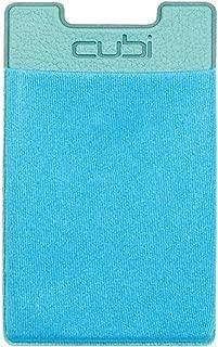CardNinja Ultra-slim Self Adhesive Credit Card Wallet for Smartphones, Blue Raspberry