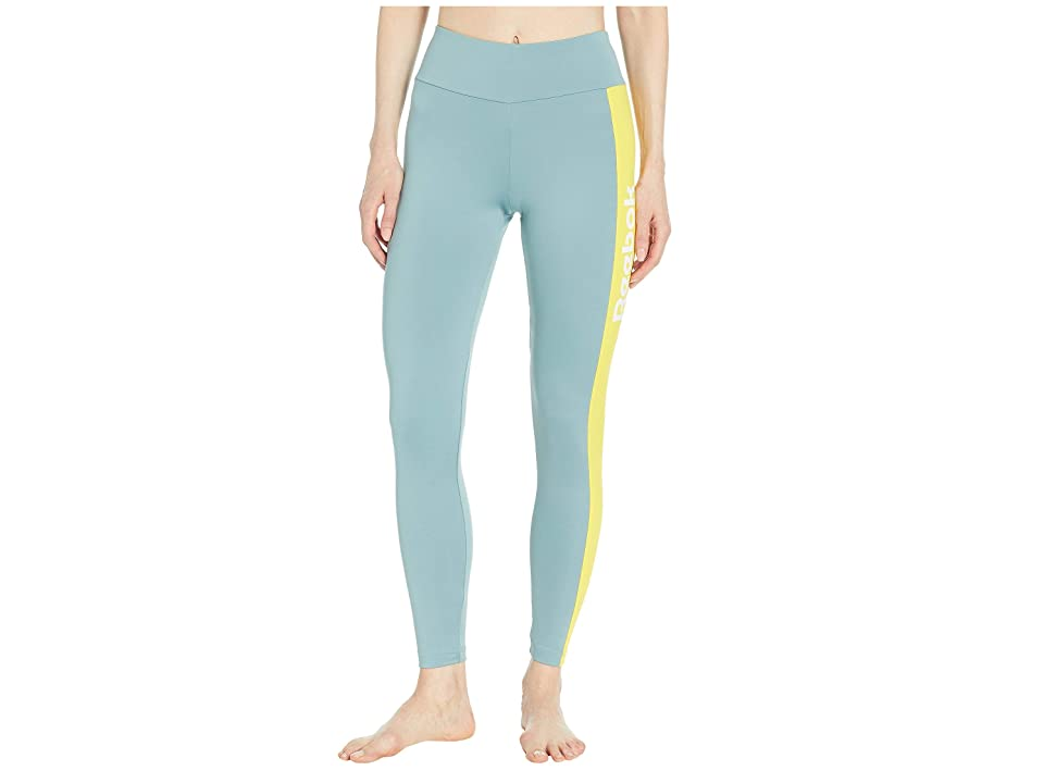 b598579a5c6e0c Reebok Classics Vector Performance Leggings (Teal Fog) Women's Casual  Pants. On sale - now ...